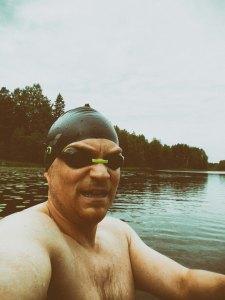 Jälkeen uinnin